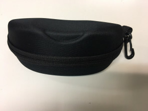 Sunglasses case - Fit Over case BLACK